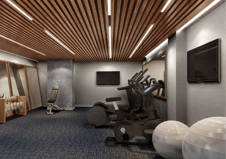 Hotel Fitness Center At Arrivé Apartments in Seattle, WA
