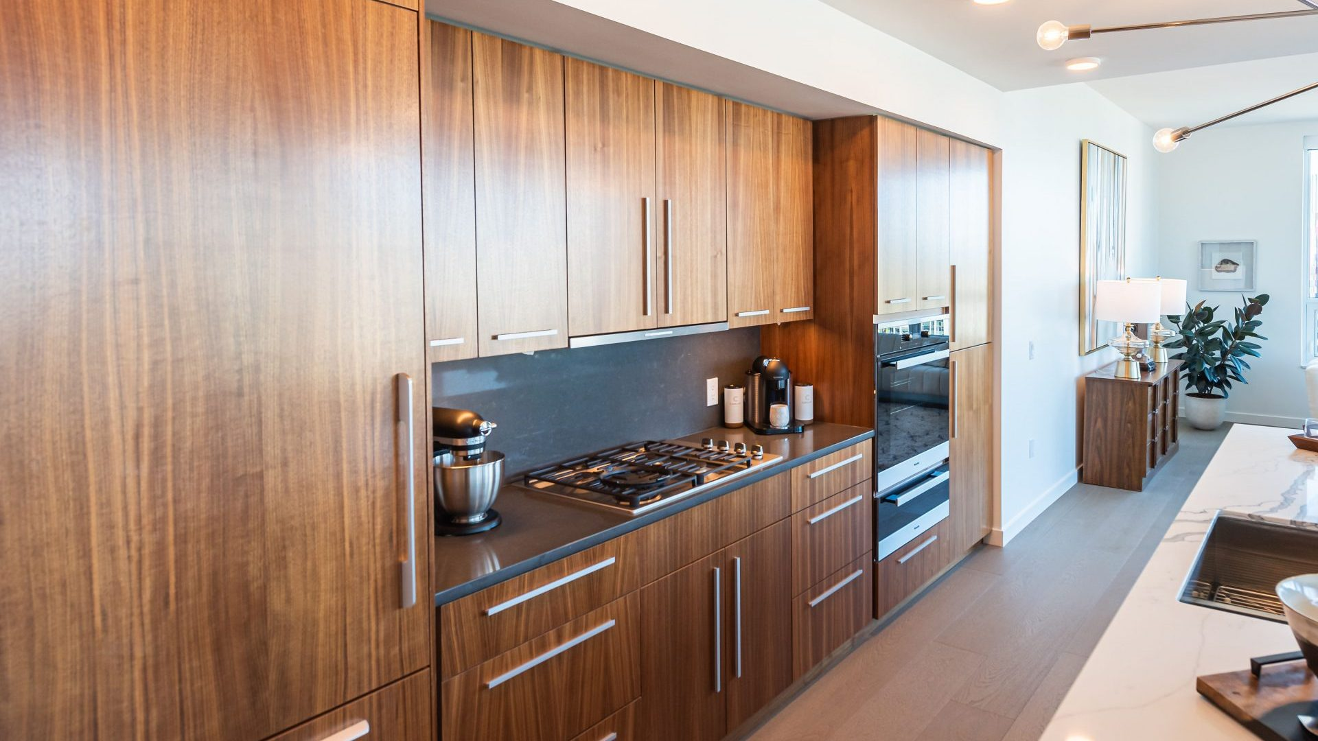 Spacious Kitchens At Arrivé Apartments in Seattle, WA