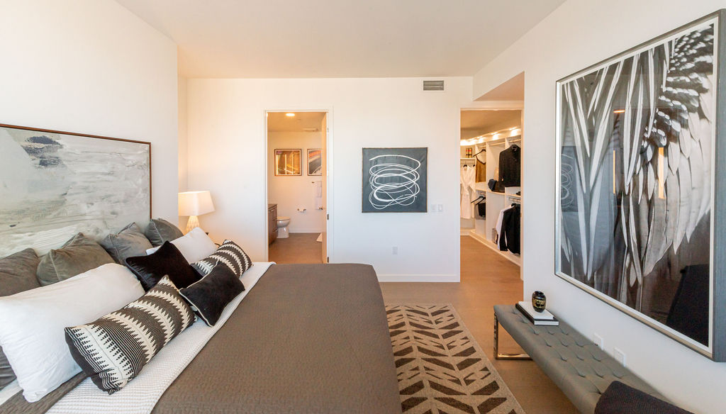 Spacious Bedrooms At Arrivé Apartments in Seattle, WA