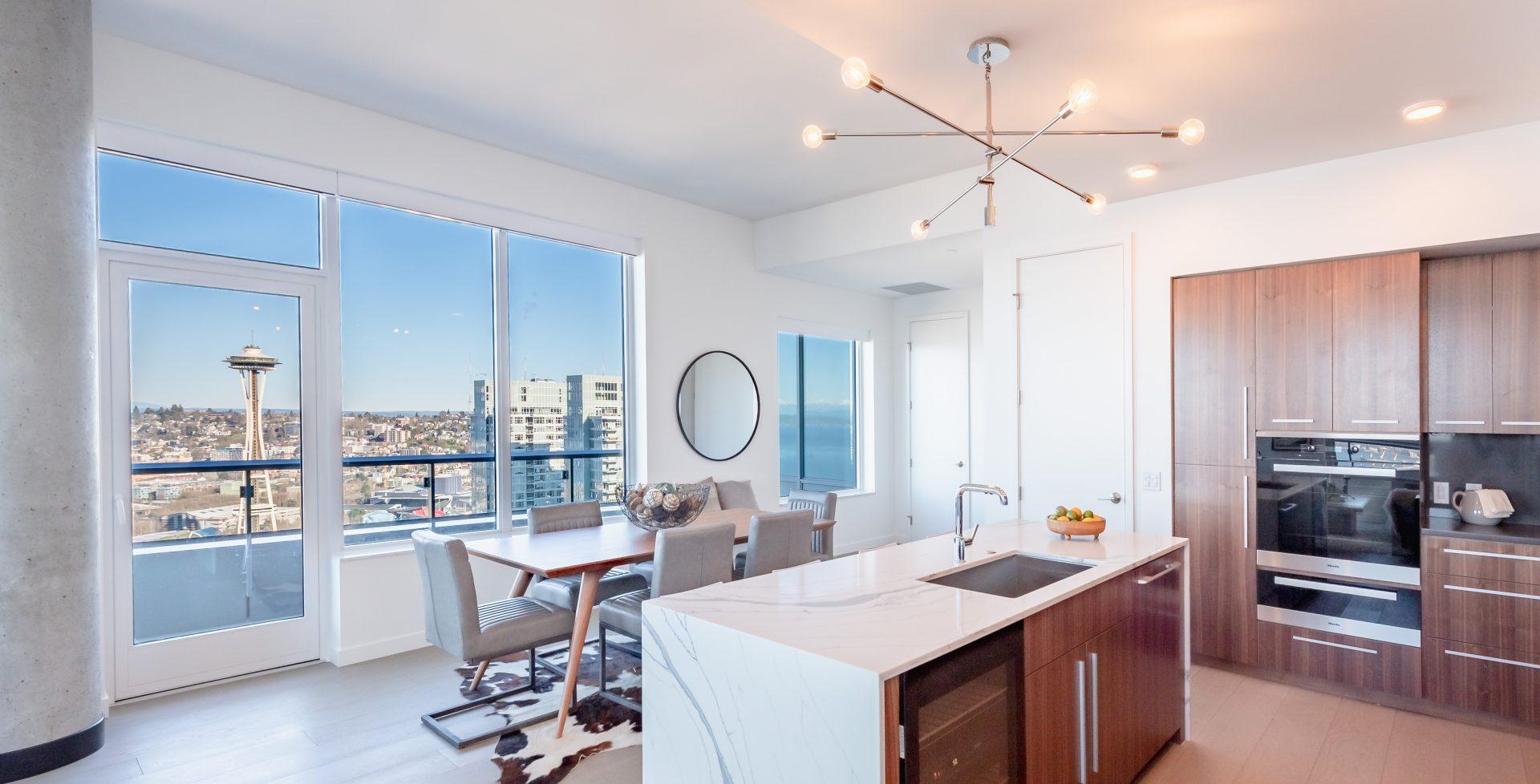 Open Concept Floor Plans At Arrivé Apartments in Seattle, WA