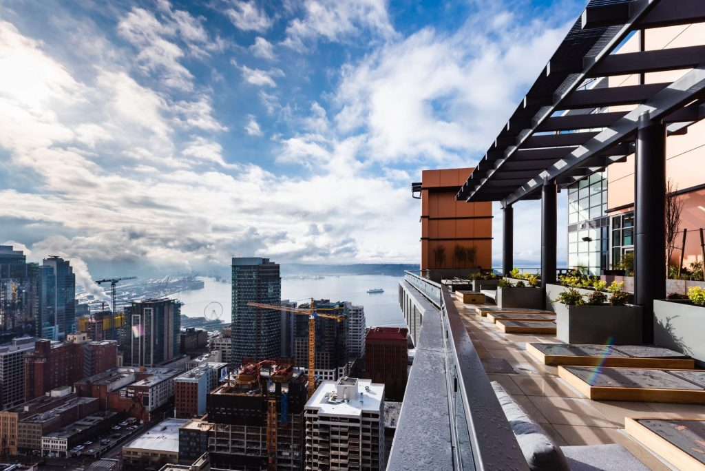 Beautiful Seattle Views At Arrivé Apartments in Seattle, WA
